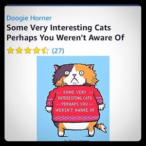 Some very interesting cats book by Doogie Horner